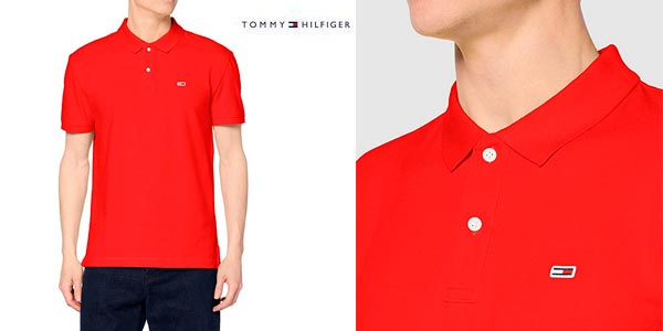 Polo Tommy Hilfiger TJM Classics Solid barato en Amazon