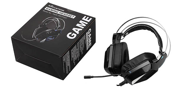 Auriculares gaming Mbuynow para PS4, PC, Xbox One o Switch baratos