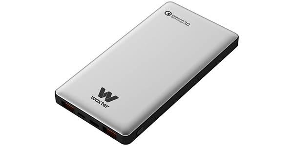 Batería portátil Woxter QC 10500 de 10.500 mAh con Quick Charge 3.0