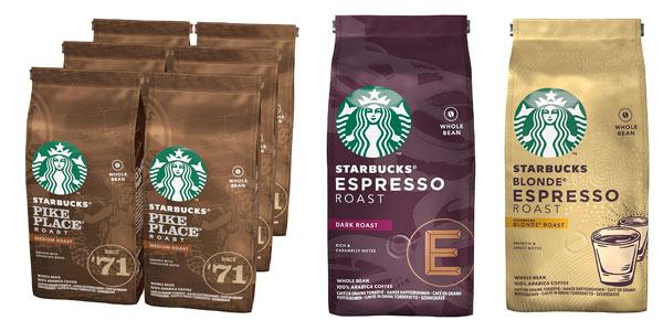 Café en grano entero Starbucks barato en Amazon