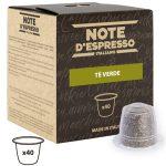 Caja x40 Cápsulas Té Verde Note D'Espresso para Nespresso barata en Amazon