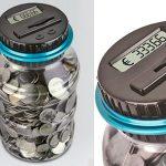 Hucha contador monedas