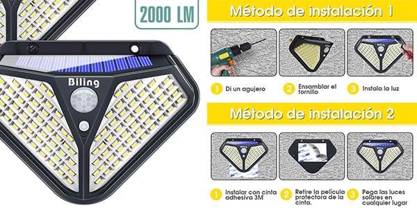 focos solares LED Biling baratos