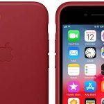 Funda Apple Leather Case de cuero original para iPhone 7/8