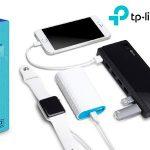 Hub TP-Link UH720 de 7 puertos USB 3.0 + 2 puertos de carga exclusiva 2.4 A barato