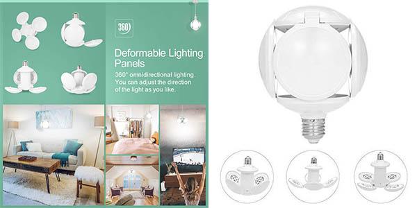 Luminaria Lixada con focos orientables para iluminación de trabajo oferta