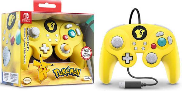 Mando PDP Smash Pad Pro Pikachu con cable