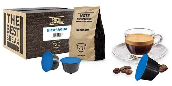 Note D'Espresso Nicaragua cápsulas de café para Dolce Gusto baratas