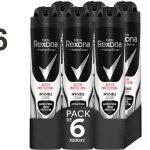 Pack x6 Desodorante Rexona Active Pro+ Invisible para hombre barato en Amazon