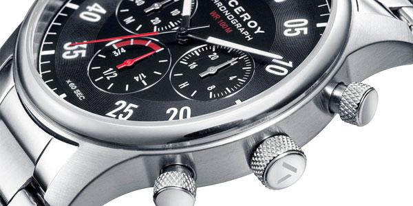 Reloj cronógrafo Viceroy Heat en acero inoxidable para hombre chollo en El Corte Inglés