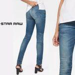 Pantalones vaqueros G-Star Raw Lynn Mid Waist Skinny para mujer baratos en Amazon