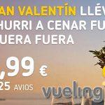 Vueling promoción San Valentín 2020