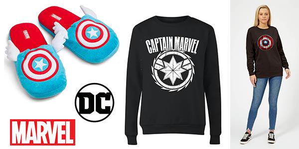 Zavvi promoción ropa de invierno Marvel DC Comics