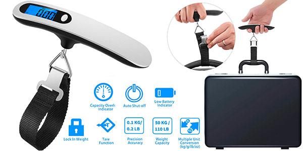 Chollo Báscula digital Newdora para equipaje