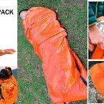 Chollo Lote de 2 sacos de dormir de emergencia Honyao