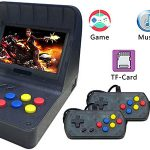 "Mini Recreativa Arcade con pantalla 4,3"", 3000 Juegos y 2 gamepads"