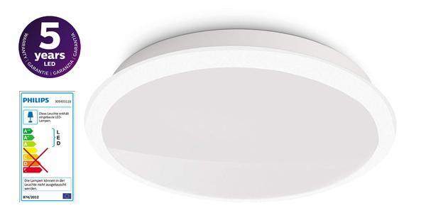 Plafón LED Philips myLiving Denim barato en Amazon