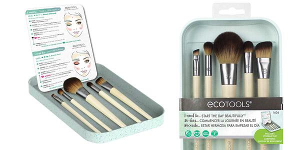 Set 5 Brochas maquillaje Ecotools Start the day beautifully kit (1606) barato en Amazon