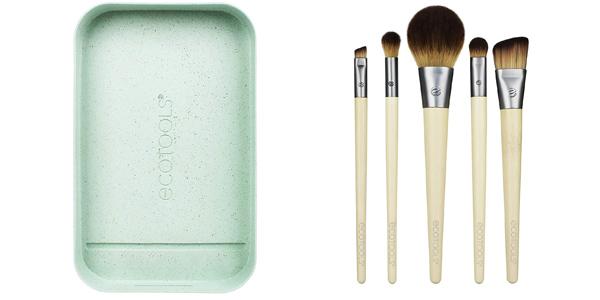 Set 5 Brochas maquillaje Ecotools Start the day beautifully kit (1606) chollazo en Amazon