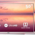 Smart TV Philips PUS6814 UHD 4K HDR con Alexa y Ambilight 3