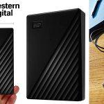 Chollo Disco duro portátil Western Digital WD My Passport de 5 TB