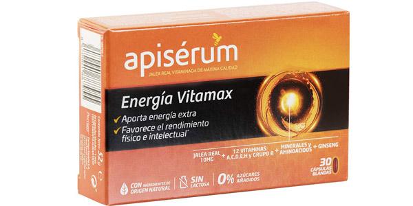 Caja x30 Cápsulas Blandas Apisérum Vitamax barato en Amazon