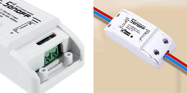 Interruptor Sonoff para domótica en casa