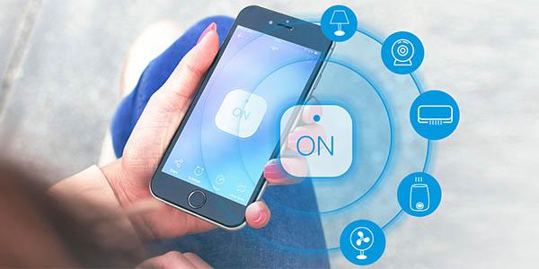 Interruptor WiFi Sonoff con app móvil