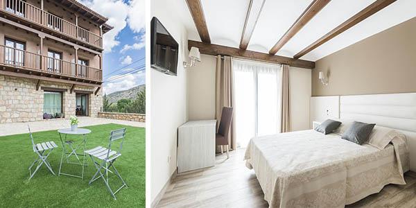Hotel Atiana Albarracín relación calidad-precio estupenda