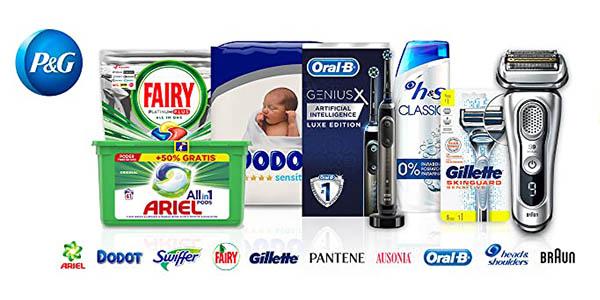 Amazon regalo con cupón descuento promoción higiene y limpieza