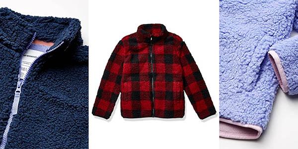 Amazon Essentials Full Zip High Pile Polar Fleece Jacket infantil chollo