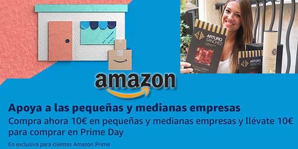 Amazon Market pequeñas empresas promoción