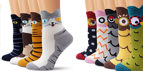 Calcetines de animales Ambielly unisex baratos en Amazon