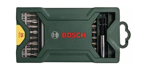 Set de 25 unidades para atornillar Bosch Mini X-line chollo en Amazon