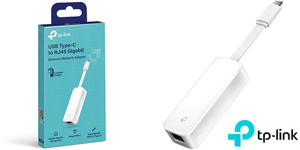 Adaptador USB-C a Ethernet TP-Link UE300C