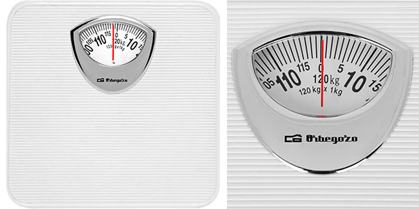 Báscula de baño mecánica Orbegozo PB 2010 barata