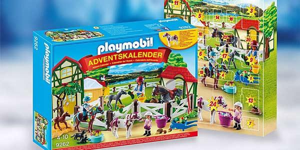 Calendario de Adviento Playmobil Granja de caballos (9262) chollo en Amazon