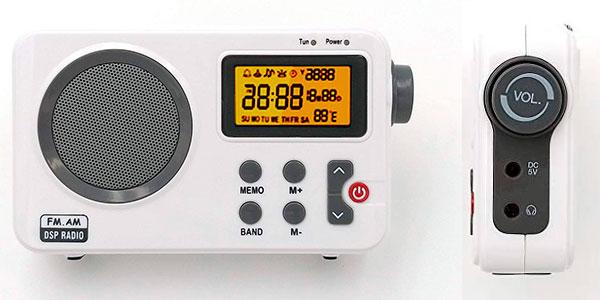 Chollo Radio NK-AB1904 portátil FM/AM de sobremesa con despertador