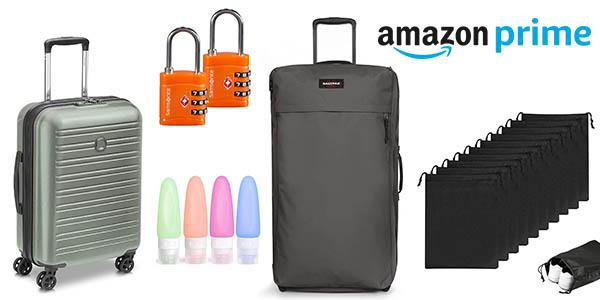 equipaje y complementos de viaje promoción Prime Day de Amazon
