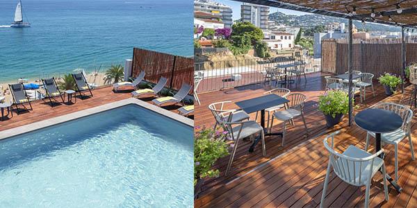 escapada económica con media pensión a Lloret de Mar Costa Brava oferta