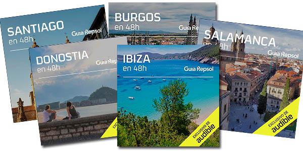 guías de ciudades de España de la Guía Repsol en Audible