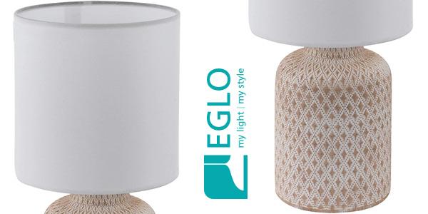 Lámpara de mesa Eglo Bellariva chollo en Amazon