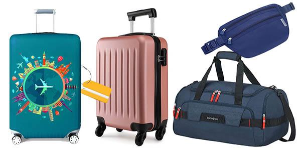 ofertas en maletas y complementos de viaje en el Amazon Prime Day