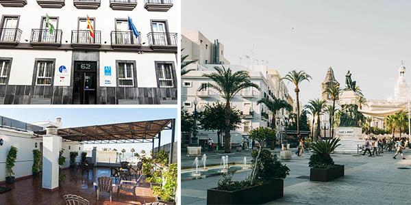 Plaza de la Luz Cádiz chollo alojamiento de viaje en otoño