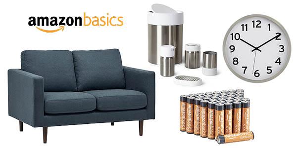 productos marca AmazonBasics rebajados para suscriptores Prime