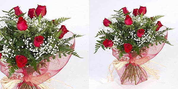 ramo de rosas rojas naturales barato