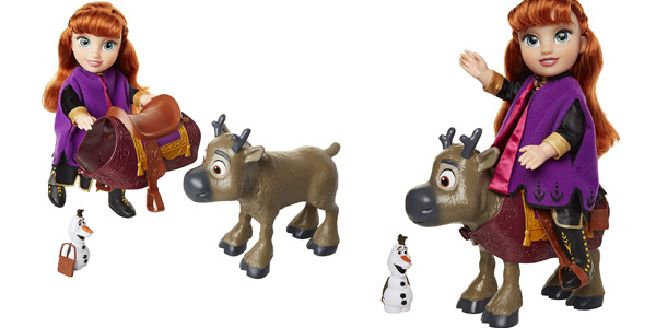 Set Disney Frozen II Anna & Sven chollo en Amazon