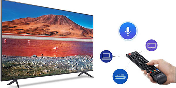 Smart TV Samsung Crystal 2020 50TU7095 UHD 4K en Amazon