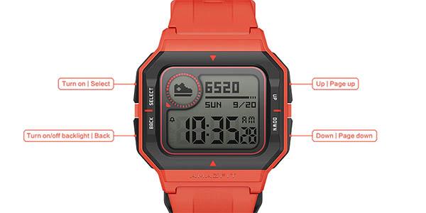 Reloj inteligente Xiaomi Amazfit Neo en AliExpress