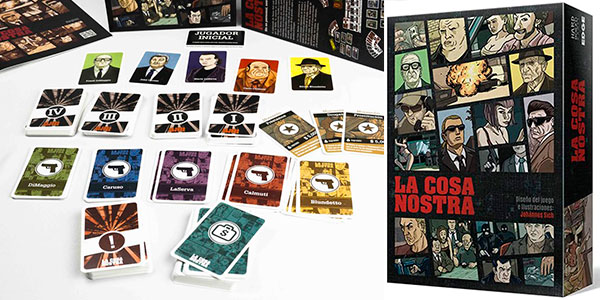 Chollo Juego de cartas La Cosa Nostra